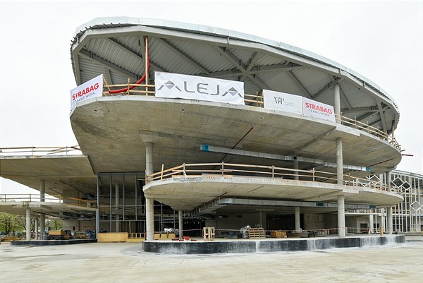 Project ALEJA under construction